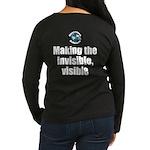 Making Visible Women's Long Sleeve Dark T-Shirt