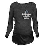 Making Visible Long Sleeve Maternity T-Shirt