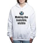 Making Visible Women's Hooded Sweatshirt