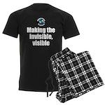 Making Visible Men's Dark Pajamas