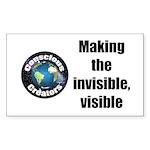 Making Visible Sticker (rectangle 10 Pk)