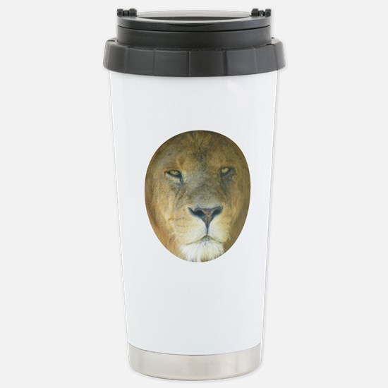 Lion Stainless Steel Travel Mug