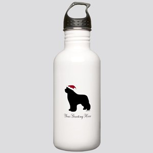 Newf Santa - Your Text Stainless Water Bottle 1.0L