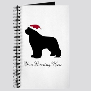 Newf Santa - Your Text Journal