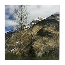 Rocky Mountains Tile Coaster