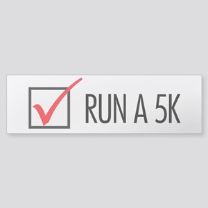 Run a 5k Sticker (Bumper)