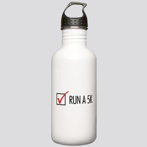 Run a 5k Stainless Water Bottle 1.0L