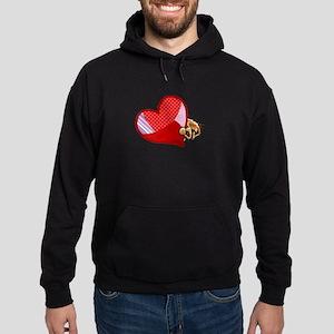 Love Norwich Terriers Hoodie (dark)