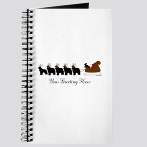 Newf Sleigh - Your Text Journal