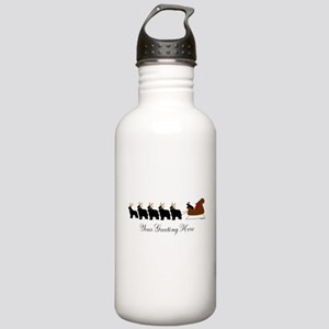Newf Sleigh - Your Text Stainless Water Bottle 1.0