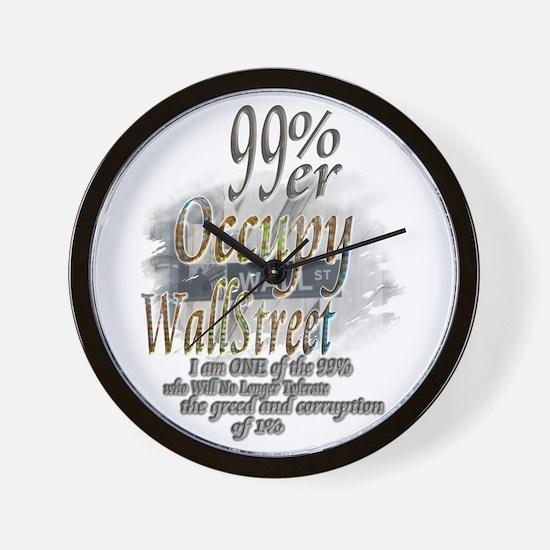 Occupy Wall Street: Wall Clock