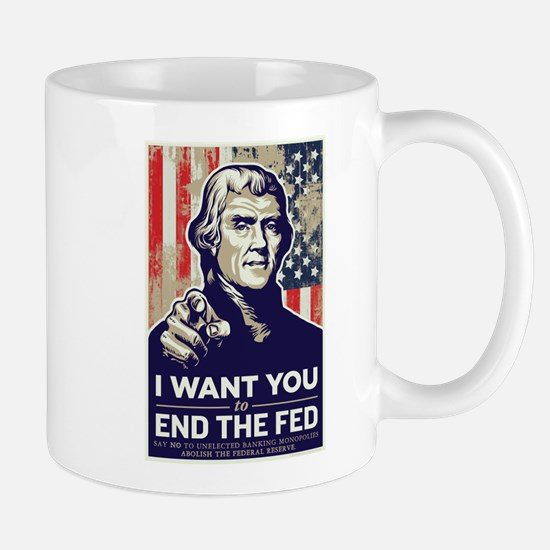 Jefferson End the Fed Mug