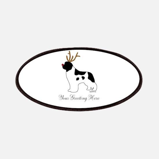 Reindeer Landseer - Your Text Patches