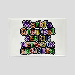World's Greatest SENIOR NETWORK ENGINEER Rectangle