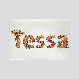 Tessa Fiesta Rectangle Magnet