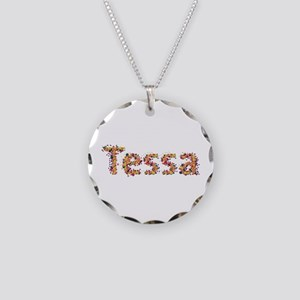 Tessa Fiesta Necklace Circle Charm