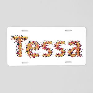 Tessa Fiesta Aluminum License Plate