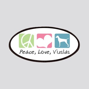 Peace, Love, Vizslas Patches