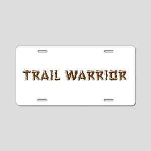 Trail Warrior Aluminum License Plate