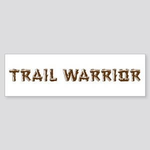 Trail Warrior Sticker (Bumper)