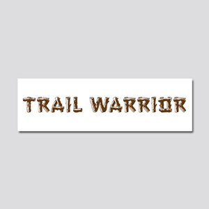 Trail Warrior Car Magnet 10 x 3
