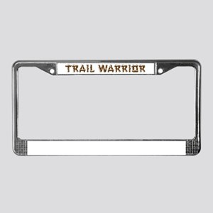 Trail Warrior License Plate Frame