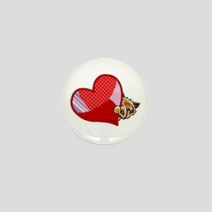 Love Norwich Terriers Mini Button