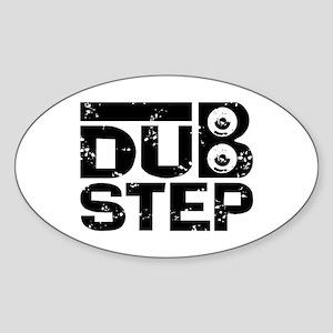 Dubstep Sticker (Oval)