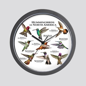 Hummingbirds of North America Wall Clock