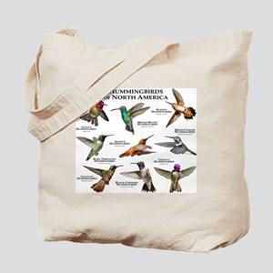 Hummingbirds of North America Tote Bag