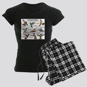 Hummingbirds of North America Women's Dark Pajamas