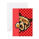 Norwich terrier Greeting Cards (10 Pack)