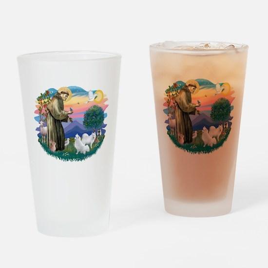 St.Francis #2/ Am Eskimo (2) Drinking Glass