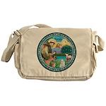St Francis/Am Eskimo #3 Messenger Bag