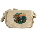 St Francis #2/ Amer Staff. Messenger Bag