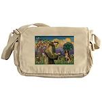 St Francis/ Aus Shep Messenger Bag
