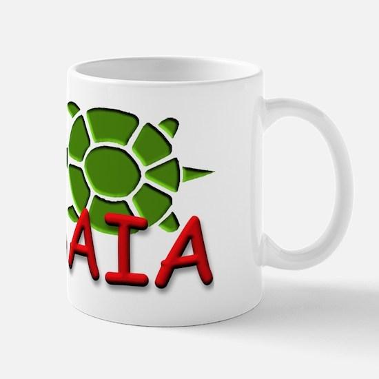 YBYSAIA w/ green Turtle Mug