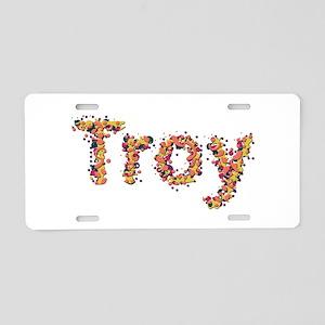 Troy Fiesta Aluminum License Plate