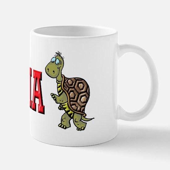 Walking Turtle YBYSAIA Mug