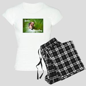 Yorkie Love Bug Women's Light Pajamas