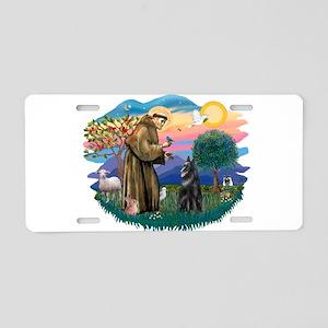 St.Francis #2/ Belgian Shep Aluminum License Plate