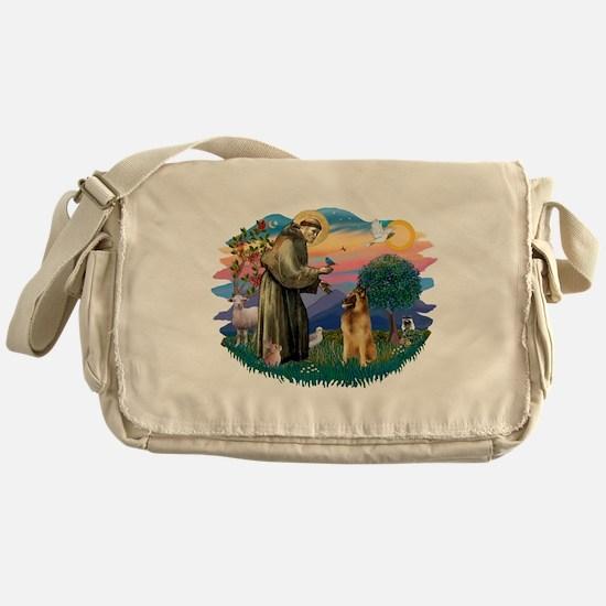 St Francis #2/ B Tervuren Messenger Bag