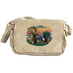 St Francis #2/ BMD Messenger Bag