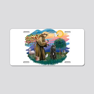 St Francis #2/ Bouvier Aluminum License Plate