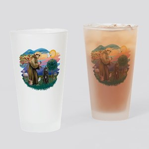 St Francis #2/ Bouvier Drinking Glass
