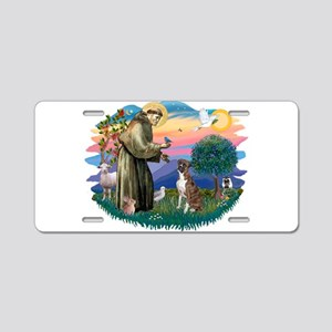 St.Francis #2/ Boxer (nat ea Aluminum License Plat