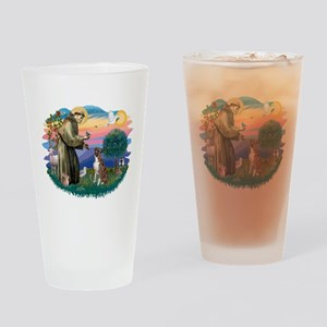 St.Francis #2/ Boxer (nat ea Drinking Glass
