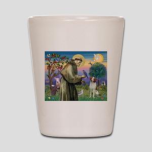 St. Fran. / Brittany Shot Glass