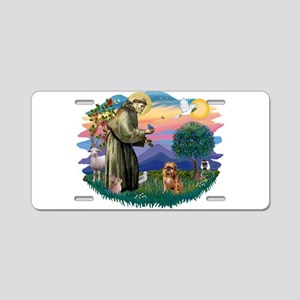 St Francis #2/ Brussels G Aluminum License Plate