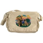 St.Francis #2/ Bull Mastiff Messenger Bag